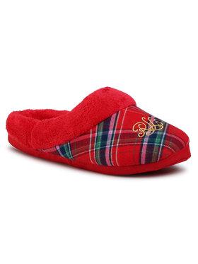 Lauren Ralph Lauren Lauren Ralph Lauren Papuci de casă Slippers ILN02030 Roșu