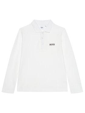 Boss Boss Polo marškinėliai J25L83 S Balta Regular Fit