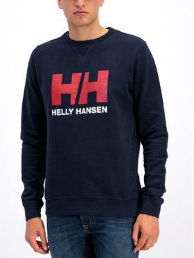 Helly Hansen Helly Hansen Majica dugih rukava Hh Logo Crew 34000 Tamnoplava Regular Fit