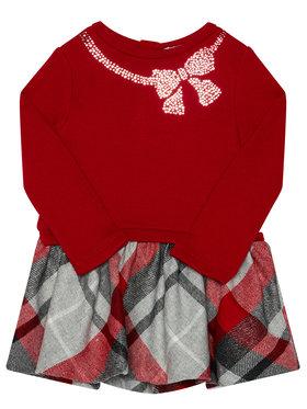 Mayoral Mayoral Každodenní šaty 4961 Červená Regular Fit