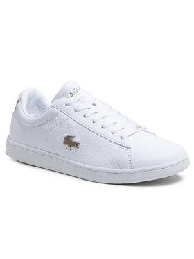 Lacoste Lacoste Sneakersy Carnaby Evo 0721 3 Sma 7-41SMA000621G Biela