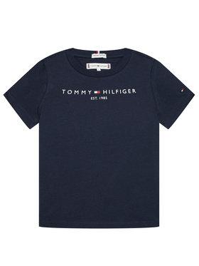 Tommy Hilfiger Tommy Hilfiger T-Shirt Essential KS0KS00210 Granatowy Regular Fit