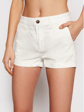Pepe Jeans Pepe Jeans Pantaloncini di tessuto Balboa PL800629 Bianco Regular Fit