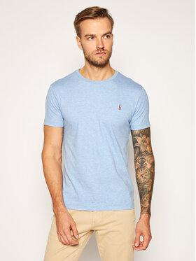 Polo Ralph Lauren Polo Ralph Lauren T-Shirt Ssl 710740727017 Blau Slim Fit