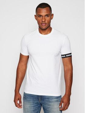 Dsquared2 Underwear Dsquared2 Underwear T-shirt D9M203190 Bianco Slim Fit