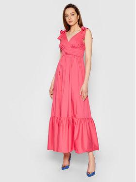 TwinSet TwinSet Letné šaty 211LM2EJJ Ružová Regular Fit