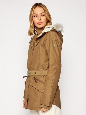 Columbia Columbia Zimná bunda Carson Pass™ II 1515501 Hnedá Regular Fit