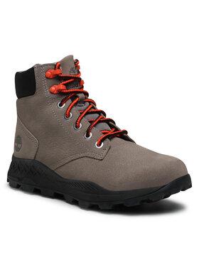 Timberland Timberland Trekingová obuv Brooklyn 6 In Boot TB0A27QZF49 Sivá