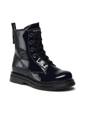 Tommy Hilfiger Tommy Hilfiger Μπότες Lace-Up Bootie T4A5-32008-0775 M Σκούρο μπλε