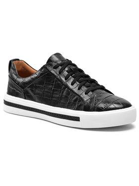 Clarks Clarks Sneakersy Un Maui Lace 261517594 Czarny
