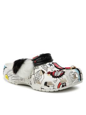 Crocs Crocs Шльопанці Classic Cruella Clog 207401 Білий