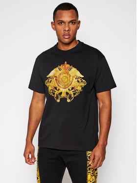 Versace Jeans Couture Versace Jeans Couture Marškinėliai B3GWA750 Juoda Regular Fit