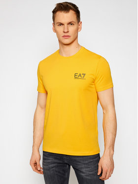 EA7 Emporio Armani EA7 Emporio Armani T-shirt 3KPT06 PJ03Z 1604 Žuta Regular Fit