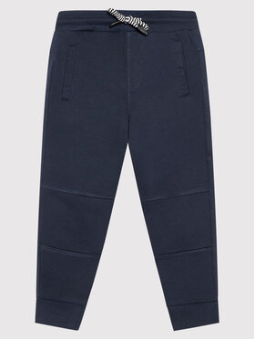 Coccodrillo Coccodrillo Teplákové kalhoty ZC1120108EVB Tmavomodrá Regular Fit