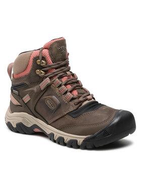 Keen Keen Trekking Ridge Flex Mid Wp W 1024921 Smeđa