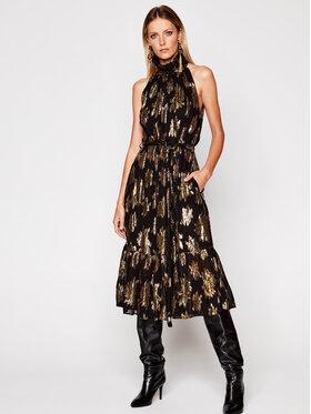 IRO IRO Koktel haljina Lazu AN079 Crna Regular Fit