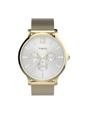 Timex Timex Часовник TW2T74600 Златист