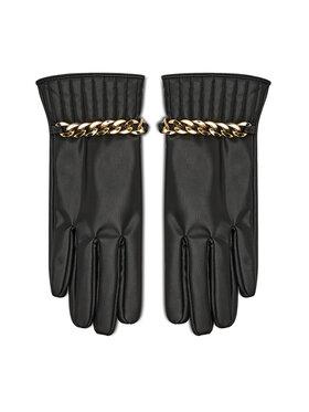 Liu Jo Liu Jo Dámské rukavice Guanto Corto Macro 3F1074 E0003 Černá