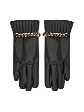 Liu Jo Liu Jo Dámske rukavice Guanto Corto Macro 3F1074 E0003 Čierna
