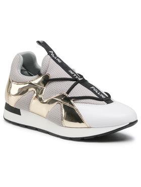 Pollini Pollini Sneakersy SA15063G1CXF110A Szary