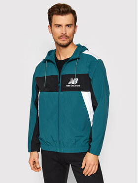 New Balance New Balance Veste coupe-vent MJ13500 Vert Relaxed Fit