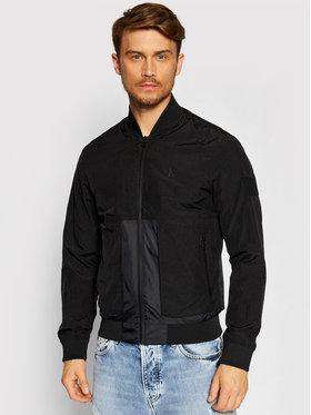 Calvin Klein Jeans Calvin Klein Jeans Μπόμπερ μπουφάν J30J317532 Μαύρο Regular Fit