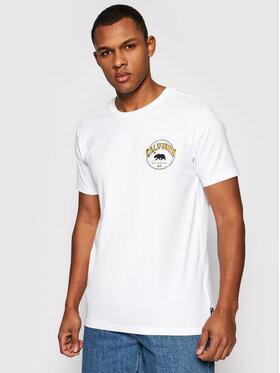 Billabong Billabong T-Shirt Dreamy Places W1SS42BIP1 Biały Regular Fit