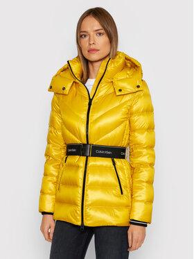 Calvin Klein Calvin Klein Kurtka puchowa K20K203132 Żółty Regular Fit