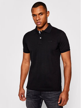 Geox Geox Polo Sustainable M1210C T2649 F9000 Nero Regular Fit