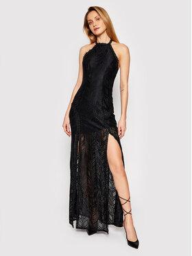 Guess Guess Sukienka wieczorowa W1GK0J KAF20 Czarny Slim Fit
