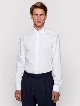 Boss Boss Marškiniai Jesse 50451092 Balta Slim Fit