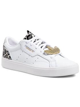 adidas adidas Обувки Sleek W FY5064 Бял