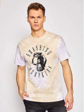 HUF HUF T-Shirt Altitude TS01404 Braun Regular Fit