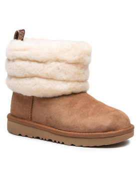Ugg Ugg Buty T Fluff Mini Quilted 1103612K Brązowy