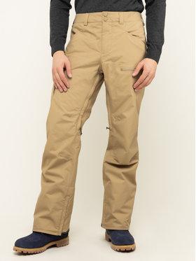 Burton Burton Spodnie narciarskie Covert 13160105250 Brązowy Regular Fit