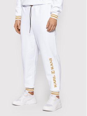 Karl Kani Karl Kani Pantalon jogging Retro 6006738 Blanc Regular Fit