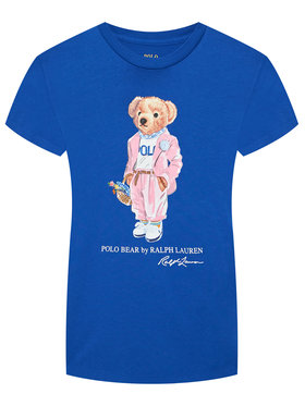 Polo Ralph Lauren Polo Ralph Lauren Póló Ssl 211838100002 Sötétkék Regular Fit