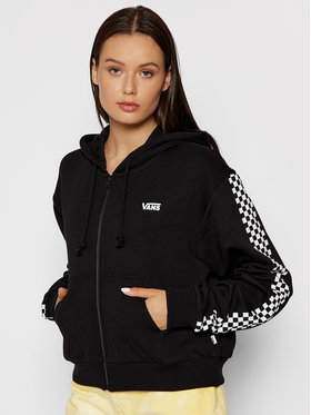 Vans Vans Суитшърт Funnier Times VN0A47TO Черен Cropped Fit