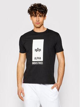 Alpha Industries Alpha Industries T-shirt Logo 126547 Noir Regular Fit