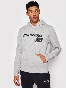 New Balance New Balance Džemperis C C F Hoodie MT03910 Pilka Relaxed Fit