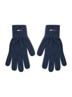 Tommy Jeans Tommy Jeans Damenhandschuhe Tjw Ess Flag Glove AW0AW10704 Dunkelblau