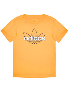 adidas adidas T-Shirt Unisex Sprt Collection Graphic GN2288 Orange Regular Fit