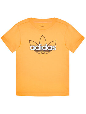 adidas adidas T-Shirt Unisex Sprt Collection Graphic GN2288 Pomarańczowy Regular Fit