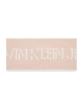 Calvin Klein Jeans Calvin Klein Jeans Лента за глава Shadow Logo Headband K60K608366 Розов
