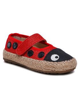 EMU Australia EMU Australia Pantofi Ladybird Nest K12514 Roșu