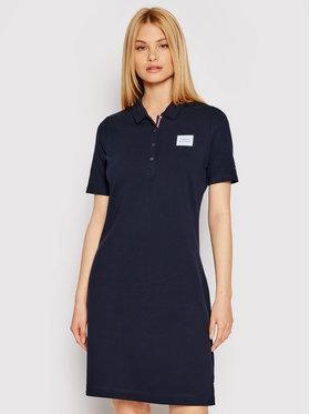 Tommy Hilfiger Tommy Hilfiger Každodenní šaty Abo Essential WW0WW32433 Tmavomodrá Regular Fit