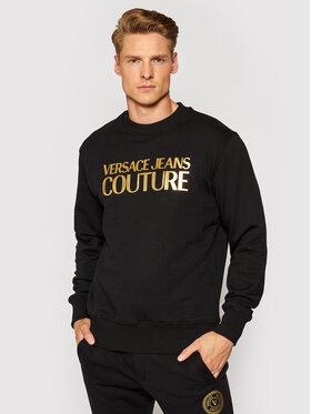 Versace Jeans Couture Versace Jeans Couture Суитшърт 71GAIT08 Черен Regular Fit