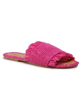 Manebi Manebi Παντόφλες Leather Sandals S 1.7 Y0 Ροζ