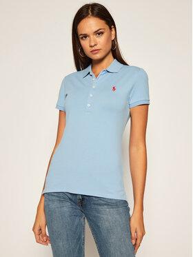 Polo Ralph Lauren Polo Ralph Lauren Tricou polo Julie 211505654139 Albastru Slim Fit