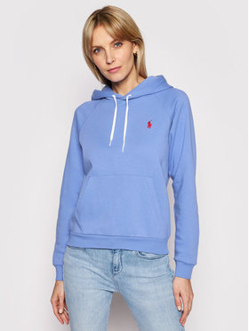 Polo Ralph Lauren Polo Ralph Lauren Sweatshirt Lsl 211790473010 Bleu Regular Fit